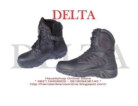 Sepatu Pdh Tentara Indonesia sepatu delta usa kode spt03 hscellshop