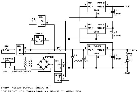 24 volts power supply circuit diagram 24 volt power supply schematic 24 get free image about