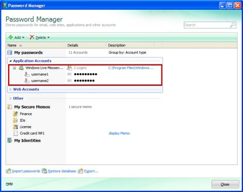 how to reset kaspersky 2013 password how to save windows live messenger account in password