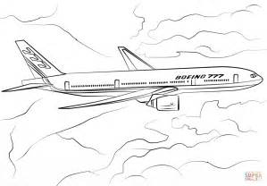 787 Coloring Page by 보잉 777 200 색칠하기