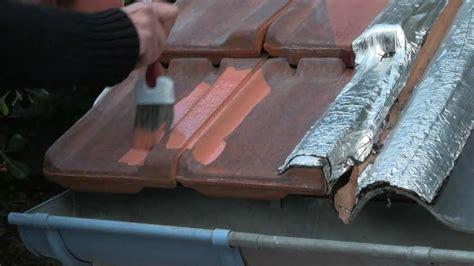 peinture tuile ciment etancheite toiture peinture d etancheite reparations