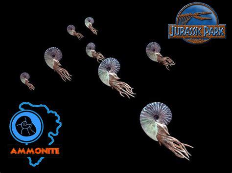 Animal World Dinosaurus Isi 6 jurassic park ingen ammonite