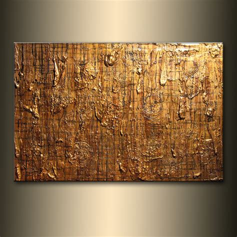 Textured Wall Paint Cost - paintings for sale abstract painting original modern textured metallic contemporary abstract