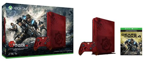 Premium Xbox One S Gear Of Wars 2tb Aif612 souq xbox one s 2tb console gears of war 4 limited