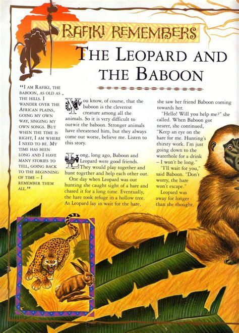 leopard   baboon  lion king wiki fandom powered  wikia