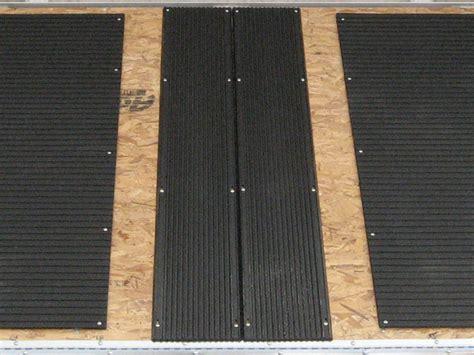 Snowmobile Track Mats snowmobile track mats ski glide configurations