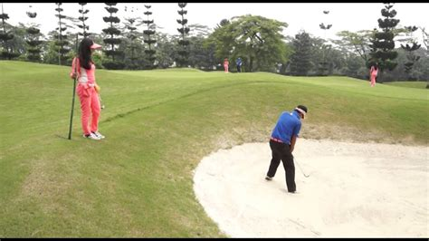 caddy training klub golf bogor raya youtube