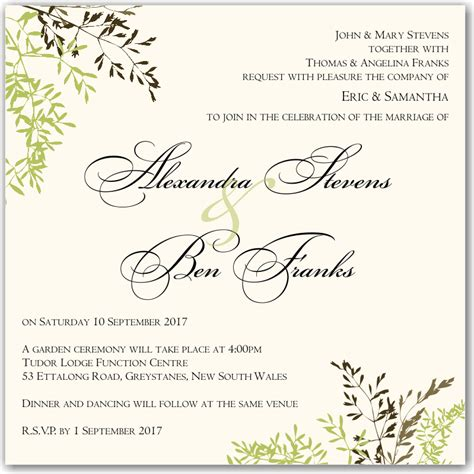 wedding invitation wording wishing well