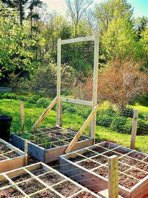 10 Foot Garden Trellis Pea Trellis Square Foot Garden By Cobello Island Via