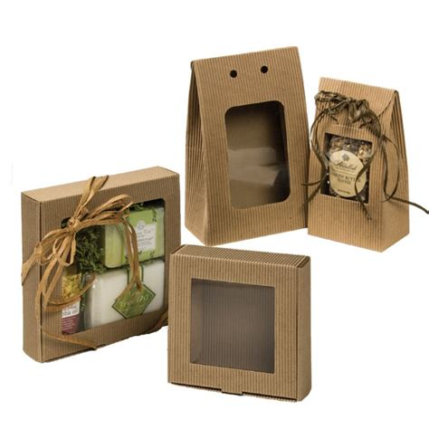 boxes with windows e flute kraft boxes with window