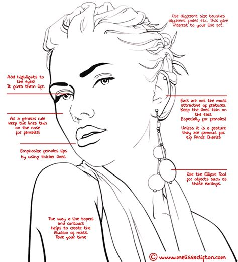 tutorial photoshop line art learning photoshop turn photos of people into line art