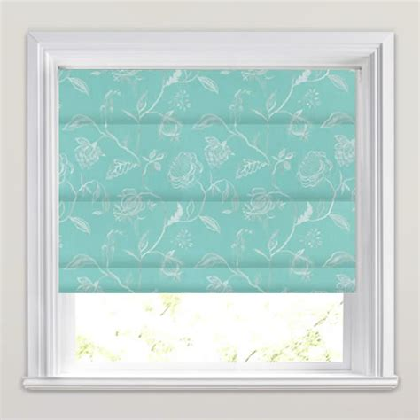 Thermal Window Curtains by Shimmering Silver Amp Turquoise Floral Jacobean Trail Roman