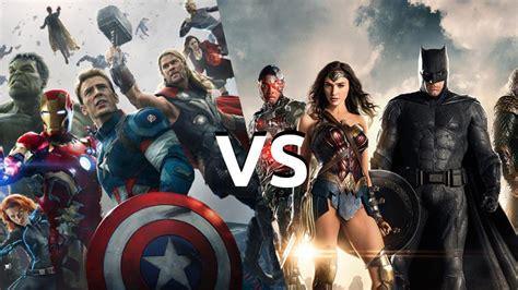 film marvel yang ditunggu dc vs marvel siapakah yang dapat membuat film superhero