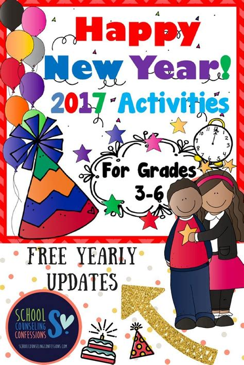 new year grade 3 41 pages of new year activities for grades 3 6 free