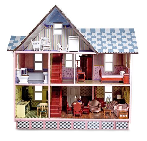 melissa and doug victorian doll house melissa doug victorian dollhouse by oj commerce 2580