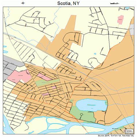 map of scotia scotia new york map 3665893