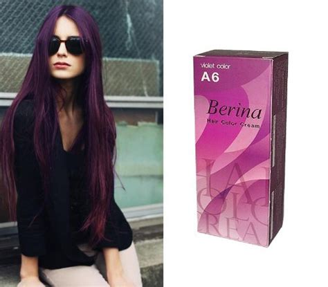 berina hair color berina violet hair color permanent hair ebay