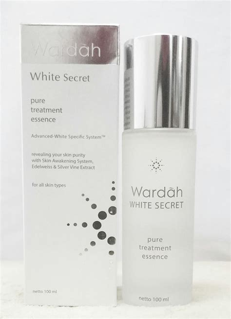 review essence lokal  halal wardah pure treatment
