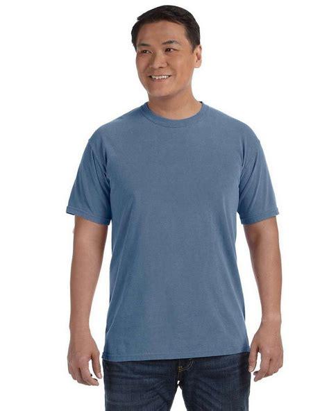 blue jean comfort colors comfort colors c1717 ringspun garment dyed t shirt