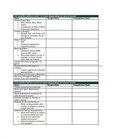 Event Planning Agenda Template by 8 Sle Planning Agenda Free Sle Exle Format