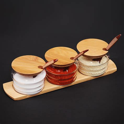 kitchen kanister sets kaufen gro 223 handel bamboo canister set aus china