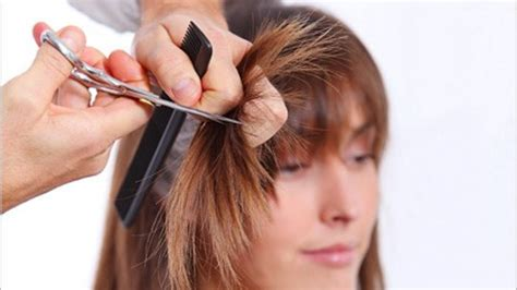 how to cut female gippy hair cuts step hair cutting in hindi images
