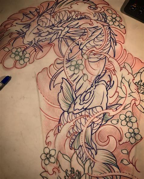dragon s gate tattoo 17 best ideas about koi sleeve on koi