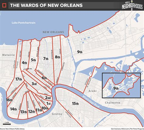 sections of new orleans 9th ward new orleans map clubmotorseattle