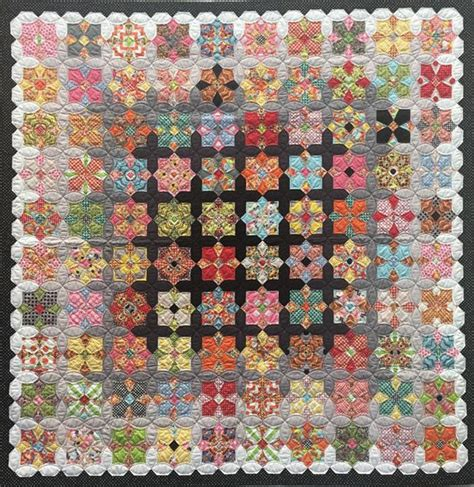 Patchwork With Busyfingers - quatro colour fabric kit patchwork with busyfingers