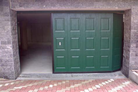 portoni sezionali laterali 187 portone scorrevole garage