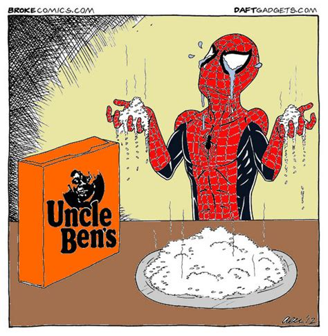 Spiderman Rice Meme - spiderman s reminder a caption contest by daftgadgets