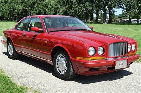 bentley old 1992 bentley other continental r 2 door coupe