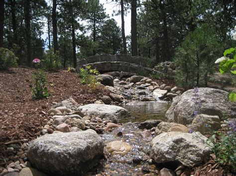 colorado springs landscaping pond and waterfall colorado springs co photo gallery landscaping network