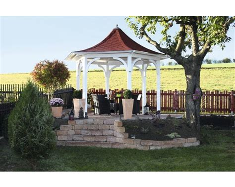hornbach pavillon holz pavillon skan holz versailles 418 cm natur bei hornbach