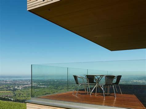 parapetto terrazzo parapetto in vetro terrazzo con fissaggio fascia a
