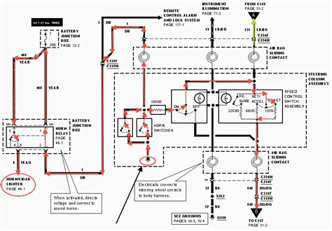 model a ford horn diagram free wiring diagrams