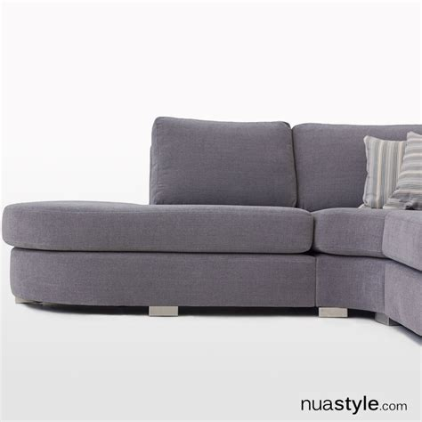 round corner sofa cameron round open corner sofa by softnord free uk delivery