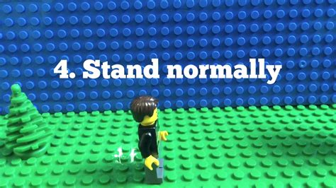 lego walking tutorial how to make lego stop motion characters walk lego stop