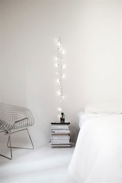 hanging string lights in bedroom how to use string lights for your bedroom 32 ideas digsdigs