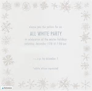 all white invitations christmanista