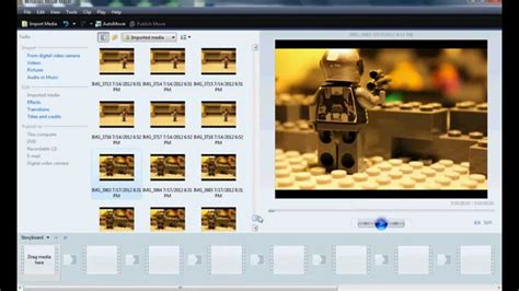 tutorial windows movie maker stop motion how to make a lego stop motion using windows movie maker