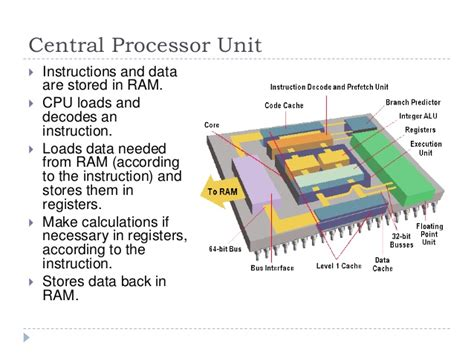 5 6 basic computer structure microprocessors