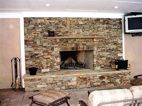 Faux Fieldstone Fireplace by Faux Panels Faux Panels Home Depot Exteria
