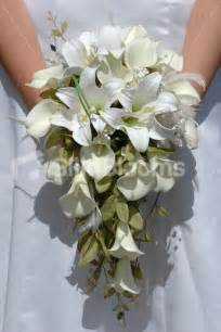 artificial wedding bouquets shop ivory calla artificial bridal wedding bouquet w foliage from silk blooms