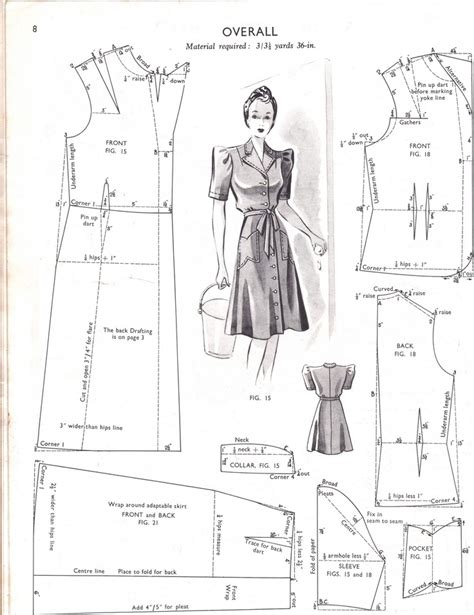 clothes pattern cutting enlarging vintage patterns and using pdfs laura after