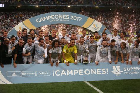 imagenes real madrid barcelona 2017 fotos real madrid barcelona la supercopa de espa 241 a en