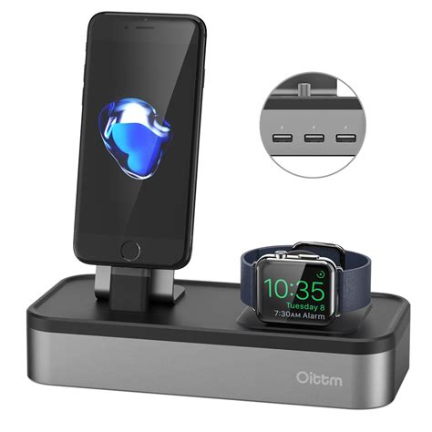 Best Quality Portable Charging Stand For Apple Hitam Bar best apple charging stands