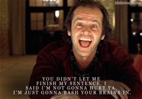 movie quotes jack nicholson the shining movie quotes quotesgram