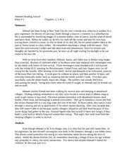 Literature Circle 3 Summary (SOK) - Literature Circle 3