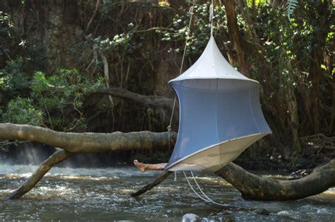 design milk hammock treepod a portable hanging hammock like cabana design